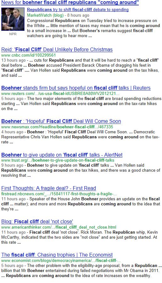 republicans coming around