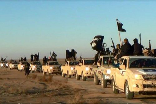 ISIS on the march.  Iraq falls into Civil War.