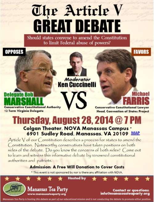 THE ARTICLE V GREAT DEBATE