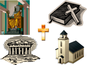 Pagan transition to Christian