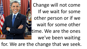 From Barack Obama's Feb. 5, 2008 Speech