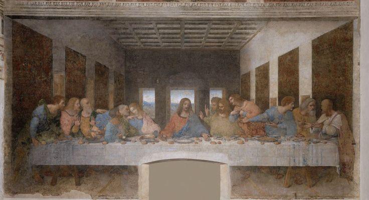 Last supper by  Leonardo da Vinci (1452–1519)