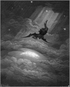 illustration for John Milton's Paradise Lost by Gustave Doré (1866).
