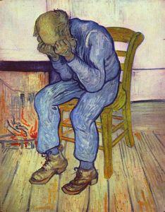 Vincent van Gogh, 1890. Kröller-Müller Museum. Sorrowing old man (