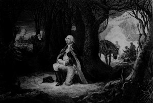 The Prayer at Valley Forge From the original painting by Henry Brueckner (from here)