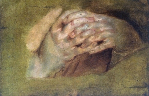 Praying Hands by  Peter Paul Rubens (1577–1640)