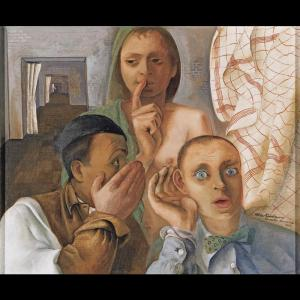 The Secret by Felix Nussbaum (11 December 1904 – 9 August 1944)