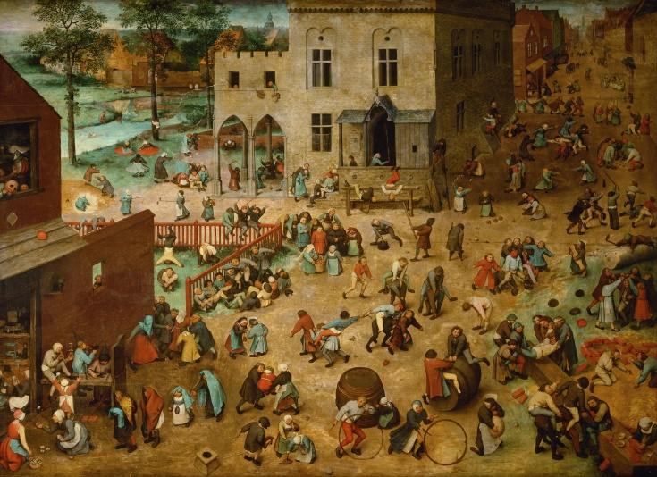 Children's Games Pieter Brueghel the Elder (1526/1530–1569) (explanation here)