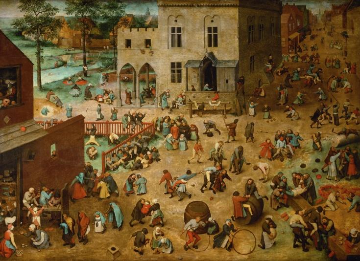 Children's Games Pieter Brueghel the Elder (1526/1530–1569) (explanation here)