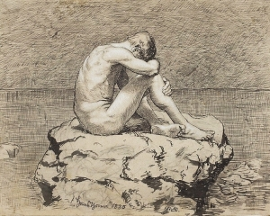 Loneliness by Hans Thoma (National Museum in Warsaw).