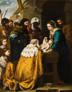 Adoration of the Magi by Bartolomé Esteban Murillo. (from here)
