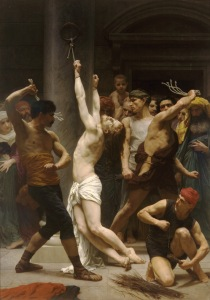 The Flagellation of Our Lord Jesus Christ (1880) by William-Adolphe Bouguereau The sick in soul insist that it is humanity that is sick, and they are the surgeons to operate on it. (from here)
