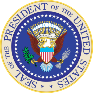 Seal of the President of the United States of America (from here)