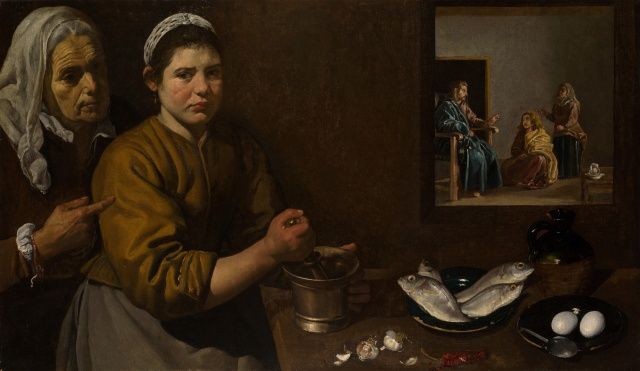 Christ in the House of Martha and Mary by Diego Velázquez (1599–1660)
