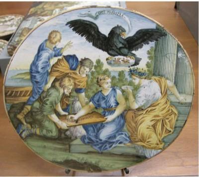 Screenshot  C.sf.,_castelli,_carmine_gentile,_ovale_con_allegoria_dell'accademia_degli_illuminati,_1730-1750