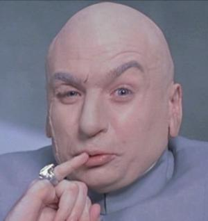 Mike Myers as Dr. Evil (from here)