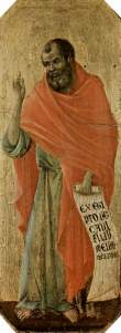 The Prophet Hosea, by Duccio di Buoninsegna, in the Siena Cathedral (c. 1309-1311) (from here)